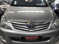 Bán xe Toyota Innova 2.0G đời 2009, màu bạc, giá tốt.