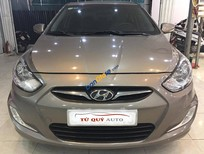 Cần bán xe Hyundai Accent 1.4AT 2012 năm 2012, màu nâu, nhập khẩu nguyên chiếc, 520tr