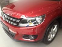 Bán xe Volkswagen Tiguan 2016, màu đỏ. Từ ngày 26/10/2016-30/10/2016 có chương trình khuyến mãi đặc biệt cho khách