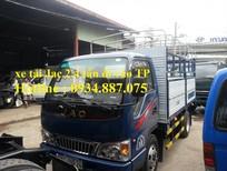 Bán xe tải Jac 2.4 tấn (2t4) thùng dài 3.7 mét, xe tải jac 2.4 tân đi được vào thành phố