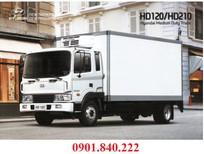 Khuyến mãi xe tải 5 tấn Hyundai HD120 thùng đông lạnh hot cuối năm 2016