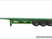 Đại lý bán rơ mooc sàn giò rút Doosung tải trọng 32 tấn ở Sài Gòn, giao ngay