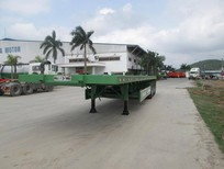 Bán Sơ Mi rơ mooc Sàn Doosung 32 tấn 3 trục rút chở container, giá 330 triệu