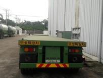 Thông tin bán Rơ Mooc sàn Doosung 32 tấn loại 3 trục rút 40 feet