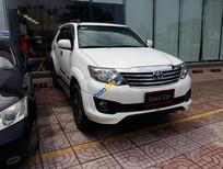 Bán ô tô Toyota Fortuner 2.7V đời 2014, màu trắng, giá 935tr