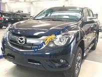 Bán Mazda BT 50 2WD 2016, màu đen, giá chỉ 719 triệu