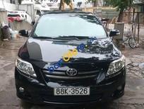 Cần bán xe Toyota Corolla altis AT sản xuất 2009, màu đen, giá 555tr