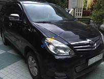 Cần bán lại xe Toyota Innova V đời 2009, màu đen