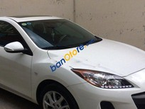Cần bán Mazda 3 AT đời 2013, màu trắng, giá tốt