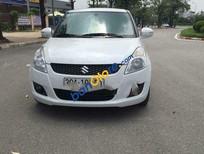 Bán Suzuki Swift AT sản xuất 2014, màu trắng số tự động, 500tr