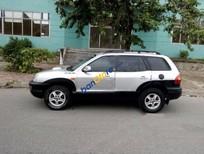 Cần bán gấp Hyundai Santa Fe đời 2001, màu bạc, xe nhập số tự động, 258 triệu