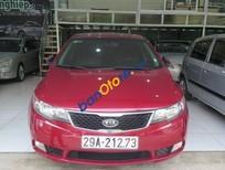 Cần bán Kia Cerato AT đời 2011, màu đỏ, giá tốt