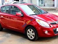 Cần bán xe cũ Hyundai i20 1.4AT đời 2011, màu đỏ, nhập khẩu chính hãng
