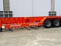 Rơ mooc xương Doosung tải trọng  33.1 tấn 3 trục 305 triệu giá cạnh tranh