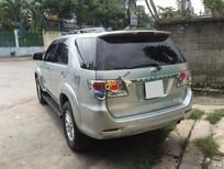 Bán Toyota Fortuner 2.7V năm 2013, màu bạc