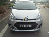 Bán ô tô Hyundai i10 MT sản xuất 2014, màu bạc, nhập khẩu nguyên chiếc, bản full