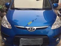 Cần bán lại xe Hyundai i10 đời 2010, màu xanh lam, giá 305tr