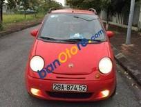 Cần bán Daewoo Matiz MT 2007, màu đỏ