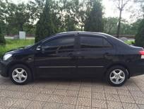 Cần bán gấp Toyota Vios E 2009, màu đen chính chủ Hà Nội