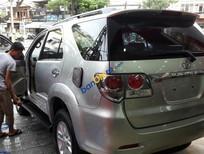Bán Toyota Fortuner 2.7 V đời 2013, màu bạc, xe nhập