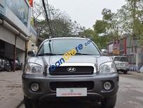 Cần bán xe cũ Hyundai Santa Fe Gold 2.0 AT đời 2005, màu bạc chính chủ