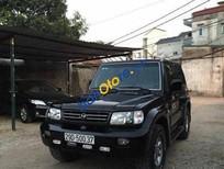 Bán Hyundai Galloper AT đời 2003, màu đen, xe nhập số tự động, giá tốt