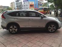 Bán xe Honda CR V 2.4 AT đời 2013, màu bạc, như mới, giá tốt