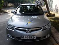 Bán Honda Civic 2.0 sản xuất 2008, màu bạc, giá tốt