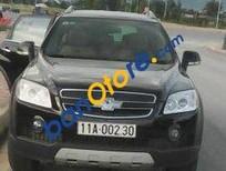 Cần bán xe Chevrolet Captiva MT đời 2007, màu đen, giá tốt