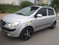 Bán Hyundai Getz 1.1 đời 2010, màu bạc số sàn, giá chỉ 330 triệu