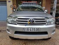 Cần bán xe cũ Toyota Fortuner V năm 2009, màu bạc, 665tr