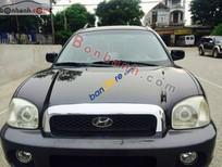 Bán ô tô Hyundai Santa Fe Gold đời 2003, màu đen, nhập khẩu, giá tốt