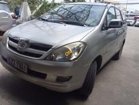 Cần bán Toyota Innova 2.0 G đời 2007, màu bạc số sàn, giá chỉ 469 triệu