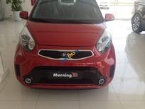 Bán ô tô Kia Morning màu đỏ xinh tươi, LH đại lý Kia 0902.230.366