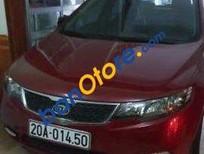 Cần bán xe Kia Cerato AT đời 2011, màu đỏ