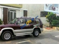 Cần bán lại xe Isuzu Trooper MT đời 2001, màu đỏ