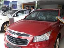 Cần bán Chevrolet Cruze LT 2017, màu đỏ, GIÁ GIẢM KHỦNG
