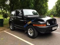 Bán ô tô Ssangyong Korando đời 2004, màu đen, xe nhập số tự động