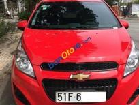 Bán ô tô Chevrolet Spark AT đời 2016, màu đỏ