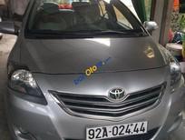 Bán Toyota Vios E năm 2012, màu xám