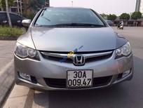 Bán Honda Civic 2.0 đời 2008, màu bạc, nhập khẩu