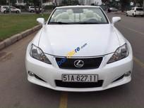 Bán Lexus IS 250C đời 2010, màu trắng, nhập khẩu chính hãng