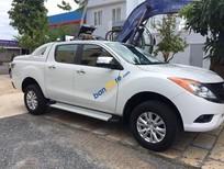 Cần bán xe Mazda BT 50 2.2 đời 2015, màu trắng