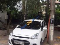 Cần bán Hyundai Grand i10 MT đời 2015, màu trắng