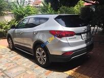 Cần bán gấp Hyundai Santa Fe 4WD đời 2015, màu bạc