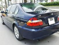 Cần bán lại xe BMW 3 Series 318i đời 2002, màu xanh lam