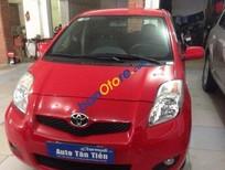 Bán Toyota Yaris AT sản xuất 2009, màu đỏ