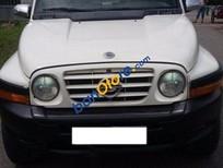 Bán xe cũ Ssangyong Korando đời 2002, màu trắng, xe nhập