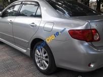 Cần bán xe Toyota Corolla Altis 2.0AT đời 2010, màu bạc