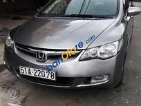 Cần bán lại xe Honda Civic 2.0AT đời 2007, màu xám